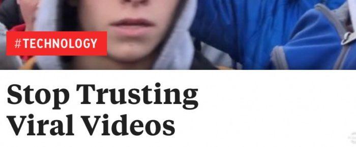 stop trusting